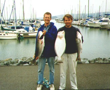 Stripers and halibut