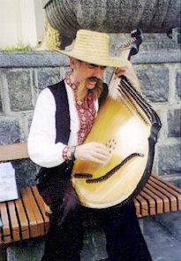 Bandura- folk string instrument