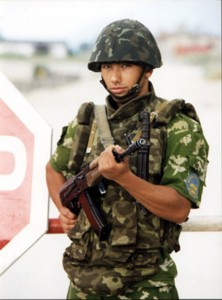 Military service is mandatory in Ukraine